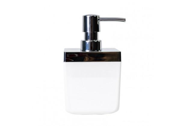 Дозатор для жидкого мыла 0,44 л Toskana Prima Nova M-SA01, Белый