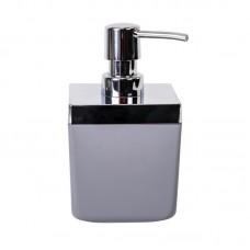 Дозатор для жидкого мыла 0,44 л Toskana Prima Nova M-SA01, Серый