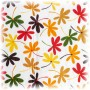 Чехол для гладильной доски с прослойкой из войлока 140х50 см Цветные Листья