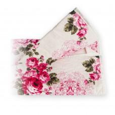 Чехол для гладильной доски с прослойкой из войлока 140х50 см Розовые Цветы