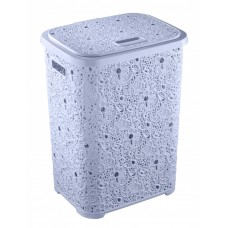 Корзина для белья 67 л Ажур Elif Plastik 322, Голубой