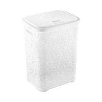 Корзина для белья 67 л Ажур Elif Plastik 322, Белый
