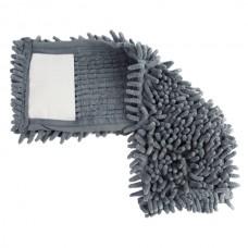 Насадка на швабру из микрофибры лапша Feniks, Серый
