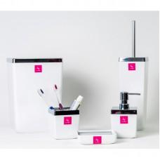 Набор аксессуаров для ванной Toskana Prima Nova M-SAS01, Белый