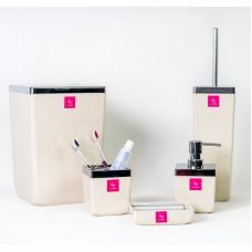 Набор аксессуаров для ванной Toskana Prima Nova M-SAS01, Бежевый