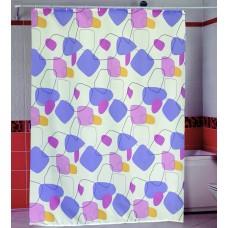 Шторка для ванной Цветные Пятна Miranda