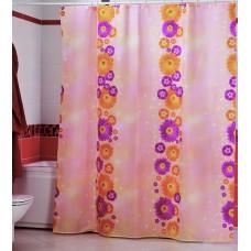 Шторка для ванной Цветочная Тропа Miranda