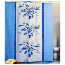 Шторка для ванной Синяя Орхидея Miranda