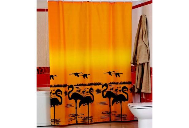 Шторка для ванной Фламинго Miranda