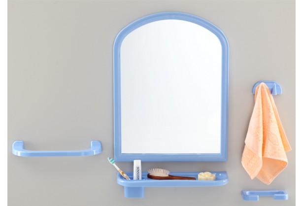 """Зеркало для ванной с аксессуарами 1+4 """"Aqua Eco"""" Tombo TP-2001"""